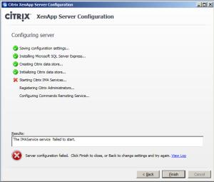 XenApp65-Error